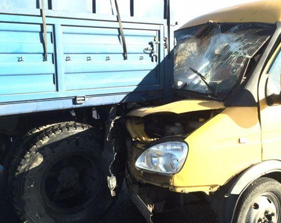 На трассе Ростов – Азов столкнулось 30 автомобилей