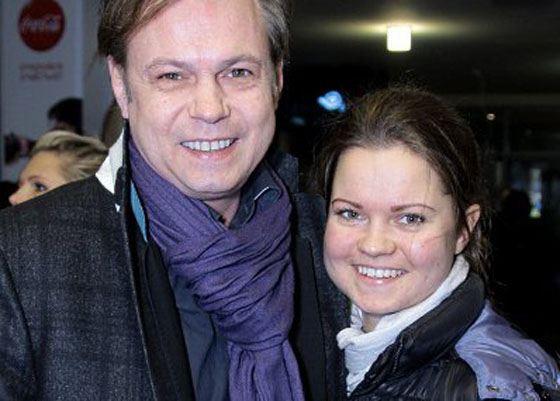 Владимир Левкин с дочерью