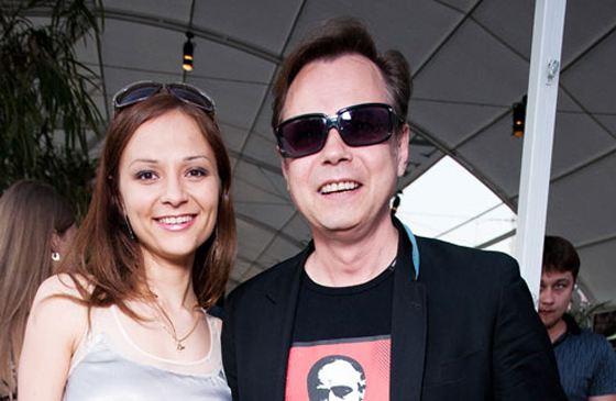 Владимир Левкин с женой Марусей