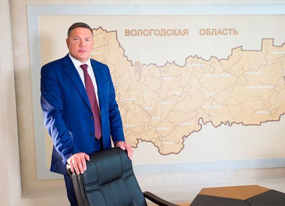 Глава Вологодской области Олег Кувшинников