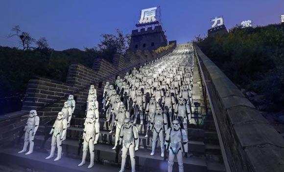 В Китае прошла грандиозная промо-акция «Звездных войн»