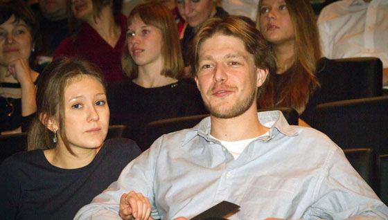 Никита с женой