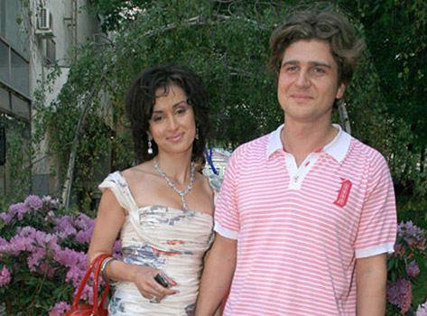 Тина Канделаки и ее бывший муж