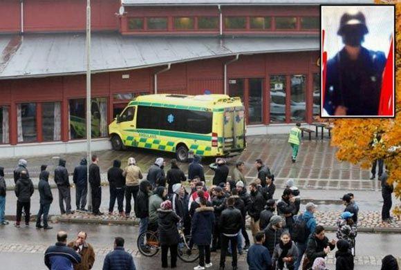 Мужчина в маске Дарта Вейдера напал на школу в шведском городе