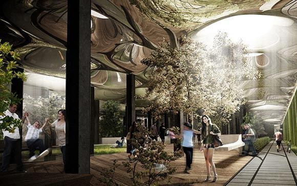 На заброшенной станции метро в Нью-Йорке открыли парк