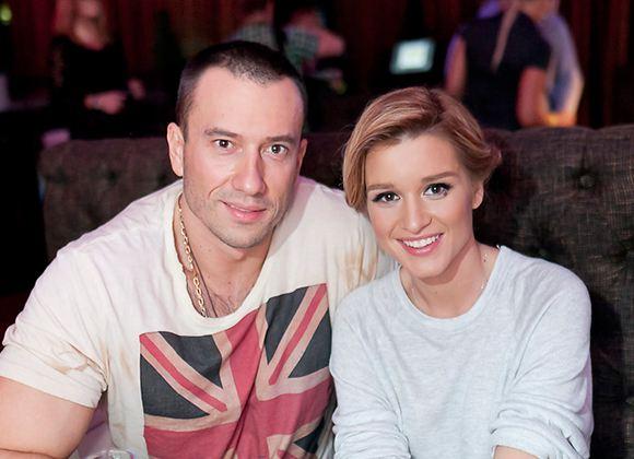 На фото: Михаил Терехин и Ксения Бородина