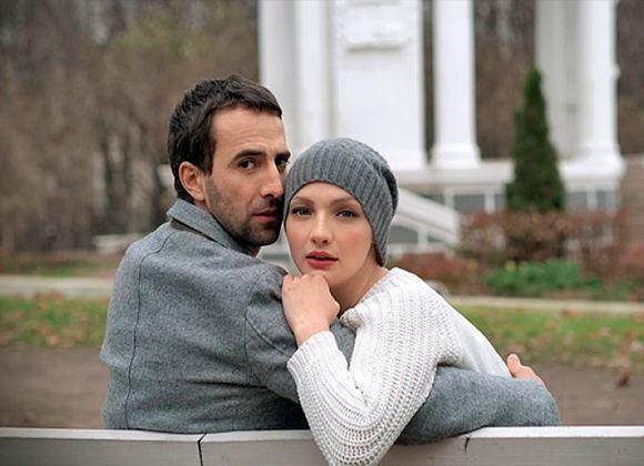На фото: Илья Любимов и Екатерина Вилкова