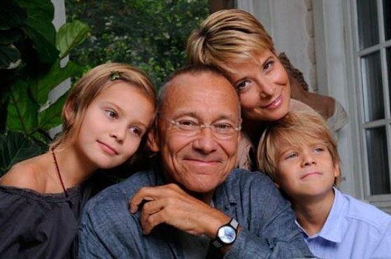Юлия и Андрей с детьми