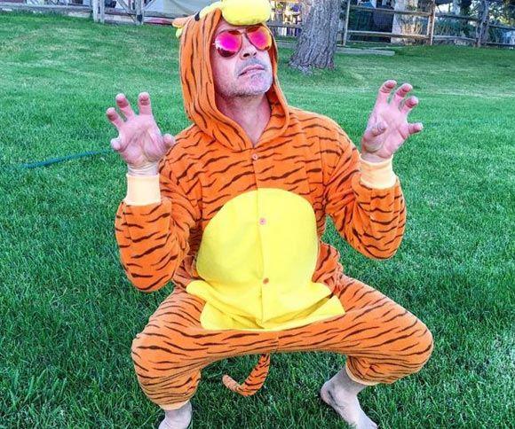 Роберт Дауни-младший надел костюм мультперсонажа ради больного ребенка