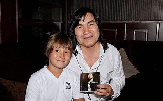 Батырхан с сыном