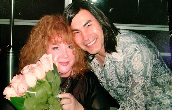 Batyrkhan and Alla Pugacheva