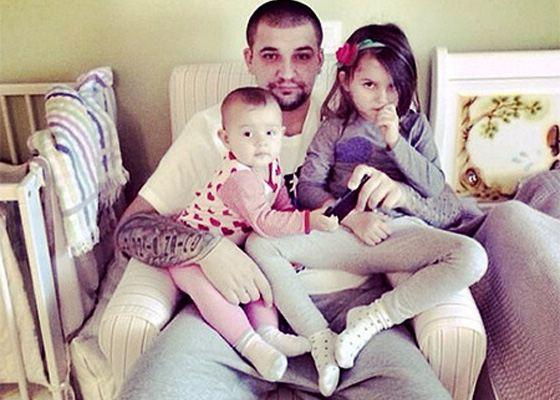 Баста с ребенком фото