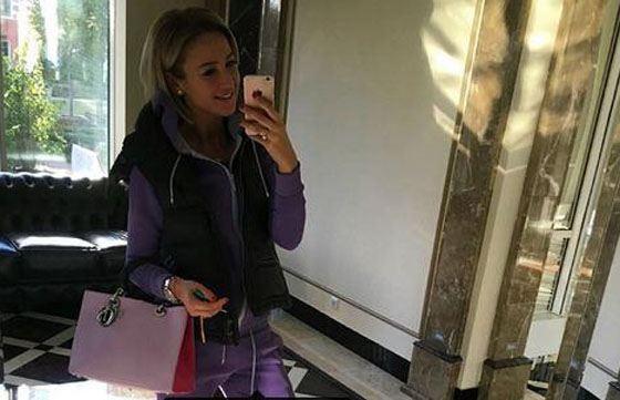 Ольга обожает селфи