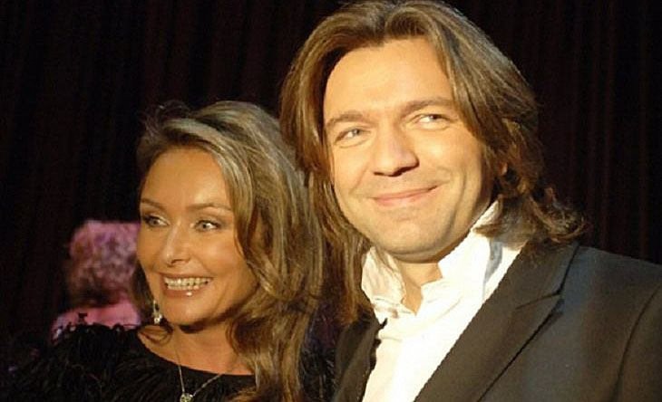 Дмитрий Маликов с женой