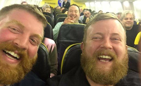 Летевший в Ирландию из США пассажир встретил своего двойника