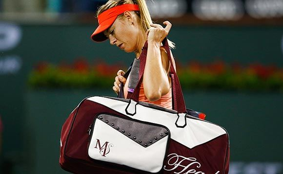 Шарапова выбыла из полуфинала итогового турнира WTA