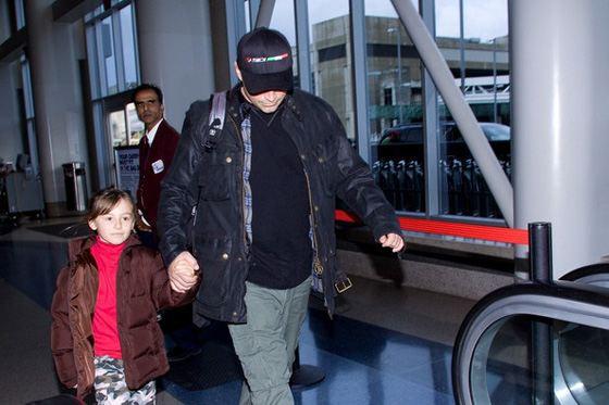 Мэтт ЛеБлан и его дочь