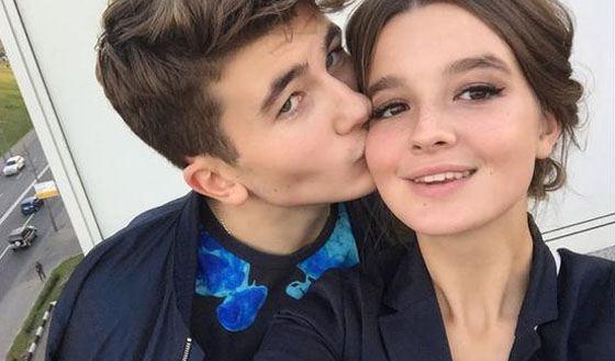 Александра с Антоном