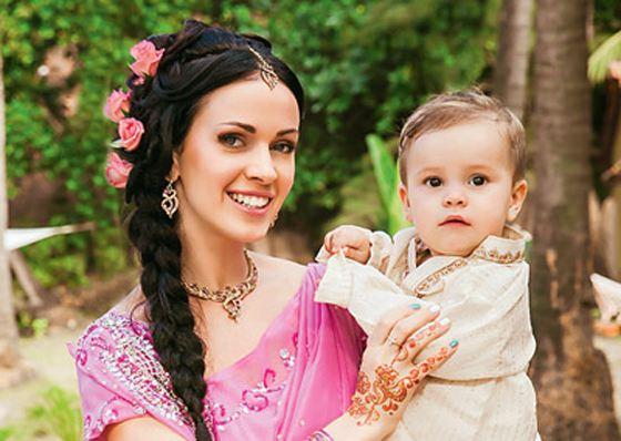 Евгения с сыном Иваном
