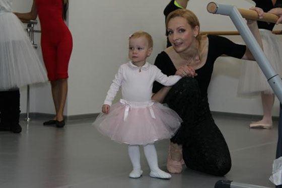 Ильзе с дочерью