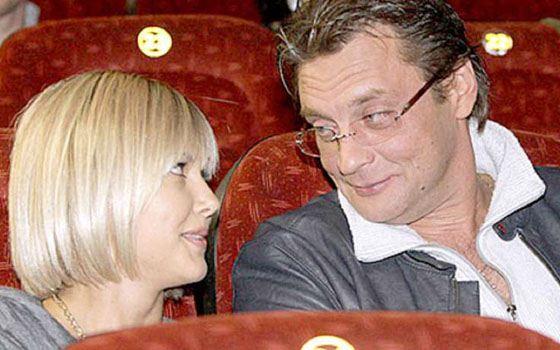 Александр Домогаров с Ларисой Черниковой