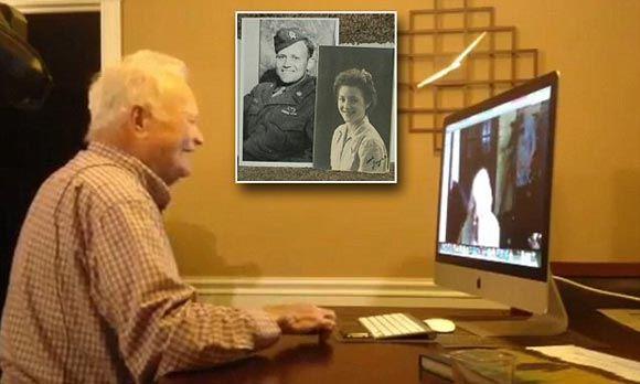 Ветеран пообщался с подругой юности спустя 71 год после их разлуки