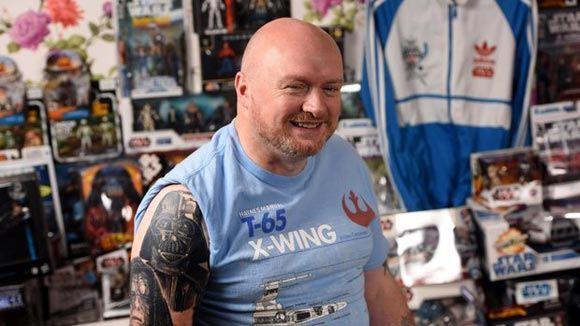 Британский фанат «Звездных войн» потратил на свое хобби 228 тысяч долларов