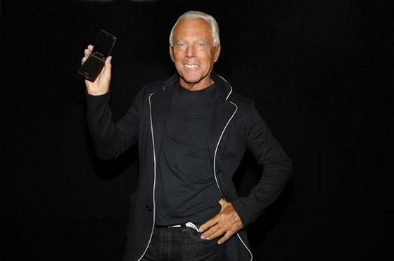 Armani is the most expensive designer in the world.