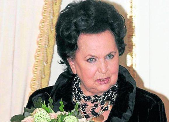In the photo: Galina Vishnevskaya