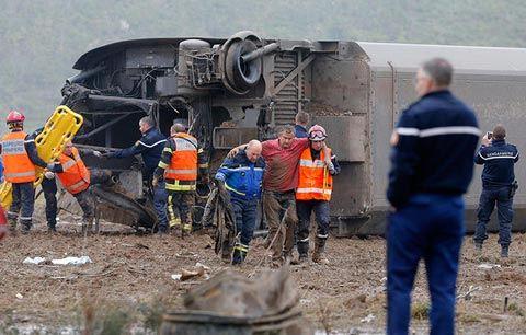 СМИ: Во Франции сошел с рельсов скоростной поезд без пассажиров