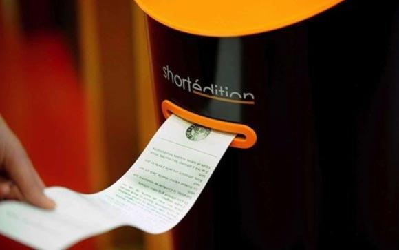 В Гренобле появились автоматы, продающие короткие истории