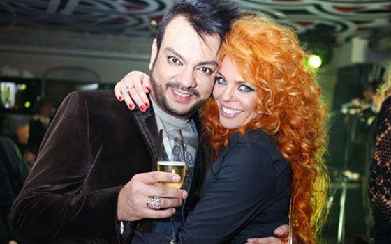 Anastasia Stotskaya and Philip Kirkorov