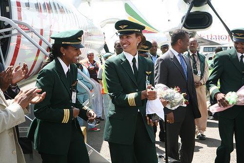 Ethiopian Airlines собирается 19 ноября запустить «женский рейс»