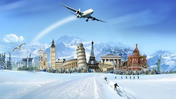 Эксперты назвали лучшее время для зимних путешествий на море и в Европу