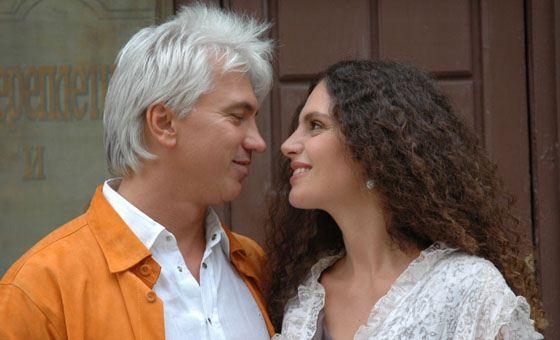 Дмитрий Хворостовский с женой