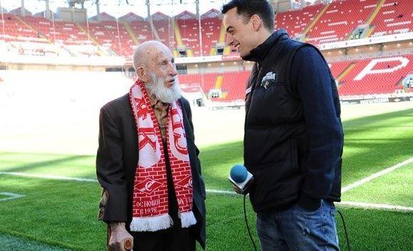 Самый пожилой болельщик «Спартака» умер в возрасте 102 лет