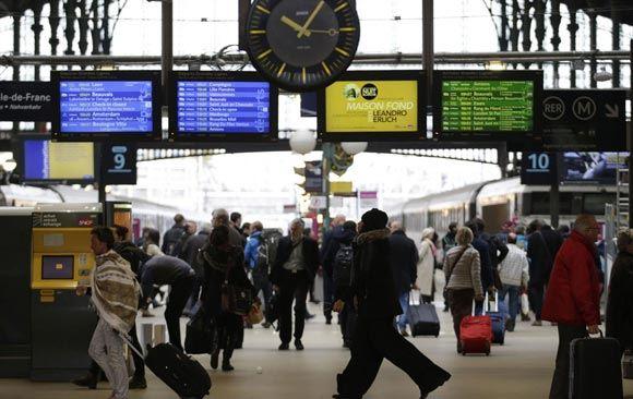 ��������� ������ Gare du Nord ������������ ��-�� ������, ��������� ������