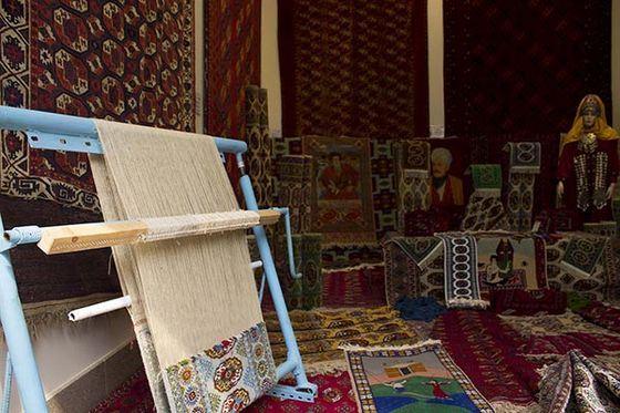 В Музее ковров в Ашхабаде собрана уникальная коллекция