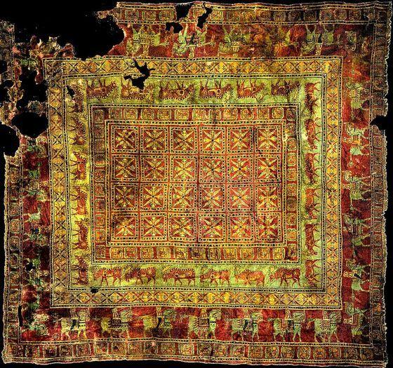 Самому старому сохранившемуся ковру несколько тысяч лет