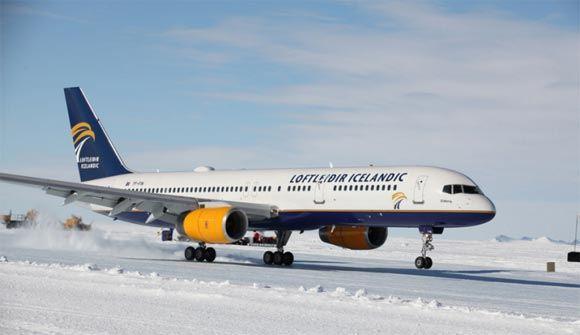 Аэродром на Антарктиде принял первый коммерческий авиарейс