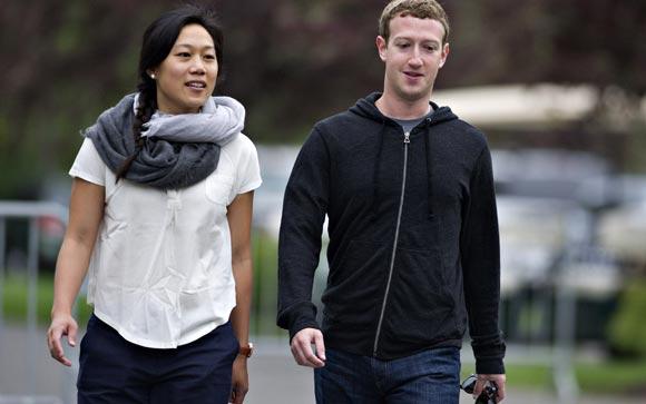 У Цукерберга и его жены родилась дочь