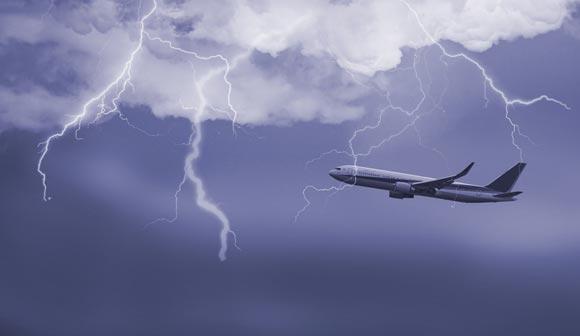 Молния ударила в самолет «Аэрофлота», летевший в Сеул