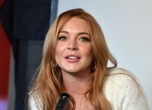 Pictured: Lindsay Lohan