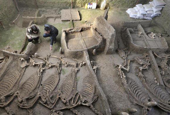 В Китае обнаружили захоронения эпохи Конфуция