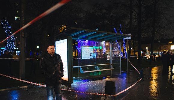 В Москве прогремел взрыв на автобусной остановке