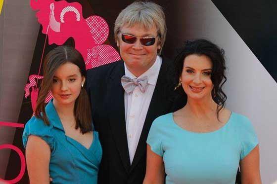 Александр и Екатерина с дочерью
