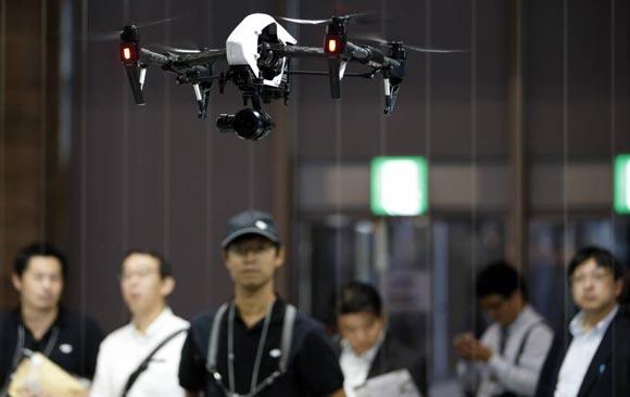 В полиции Токио создадут подразделение для перехвата дронов