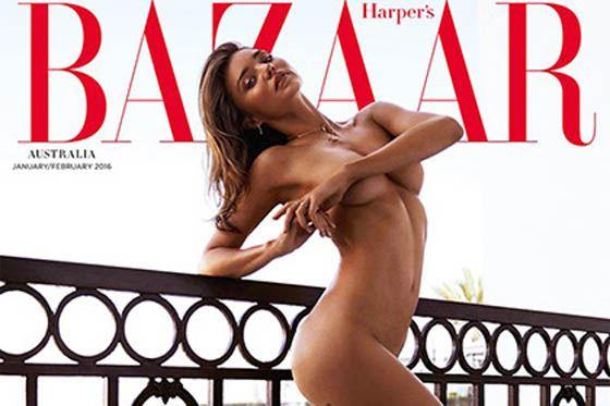 Миранда на обложке журнала
