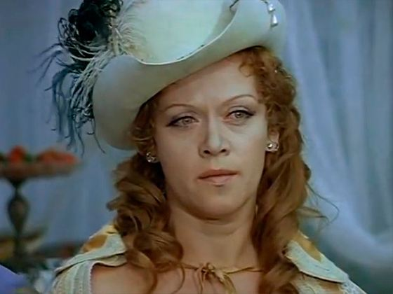 "Alisa Freindlich in the film ""D'Artagnan and the Three Musketeers"""