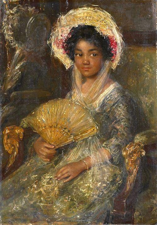 Симон Марис. «Молодая негритянская девушка»